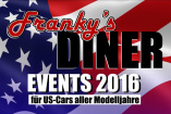 Indian Summer Meet - US Car Saisonabschluss am Franky's DINER | Montag, 3. Oktober 2016