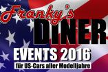 American Burger & Cars am Franky's Diner | Sonntag, 24. Juli 2016