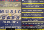 Music Cars | Sonntag, 30. April 2017