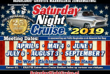 Saturday Night Cruise | Samstag, 7. September 2019
