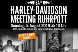24. Harley-Davidson Meeting Ruhrpott | Sonntag, 5. August 2018