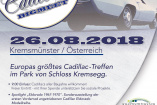 Cadillac BIG Meet | Samstag, 25. August 2018