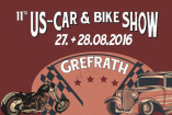 11. US-Car- & Bike Show | Samstag, 27. August 2016