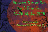 Halloween Custom Run Car&Bike Show | Freitag, 26. Oktober 2018