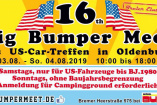 Big Bumper Meeting  | Samstag, 3. August 2019