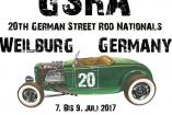 20th German Street Rod Nationals | Freitag, 7. Juli 2017