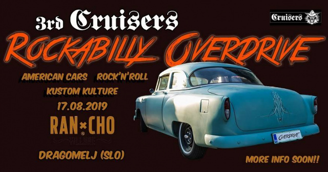 3rd Cruisers Rockabilly Overdrive