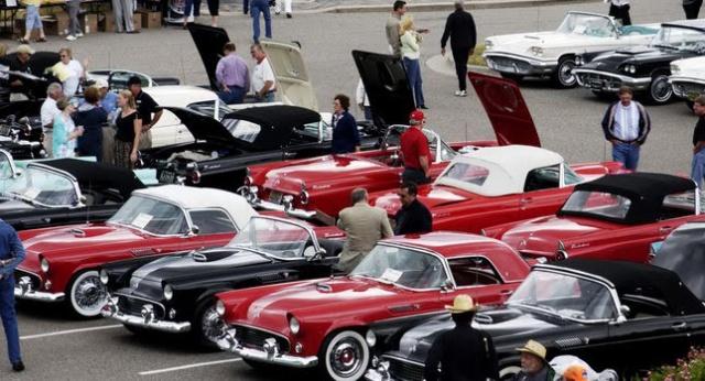 Ford Thunderbird Treffen