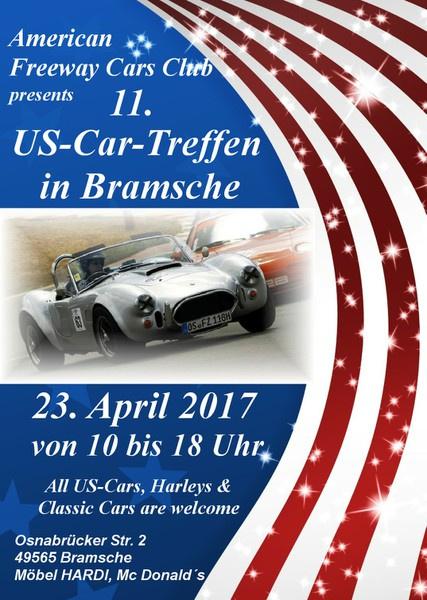 Us Car Treffen Sonntag 23 April 2017 Bramsche Termin