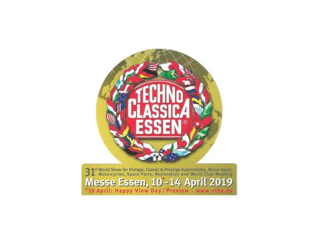 31. Techno Classica 2019 | Mittwoch, 10. April 2019 ...