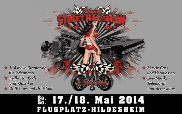 Street Mag Show -Dragracing Hildesheim