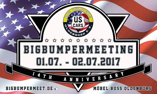 14 bigbumper meeting samstag 1 juli 2017 oldenburg m bel buss oldenburg termin. Black Bedroom Furniture Sets. Home Design Ideas