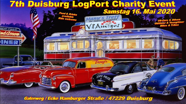 7th Logport Charity Event der V8 Amigos