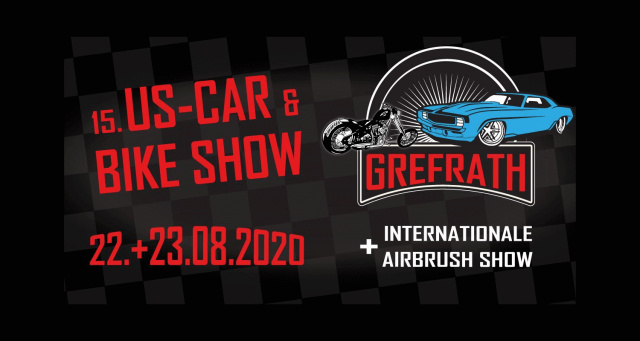 VERSCHOBEN 15. US-Car & Bike Show