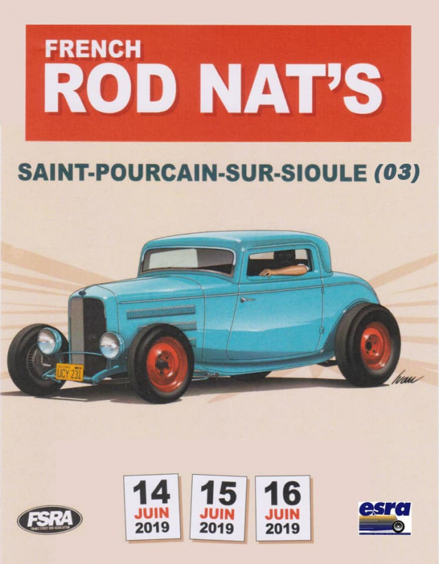 French Rod Nat's 2019