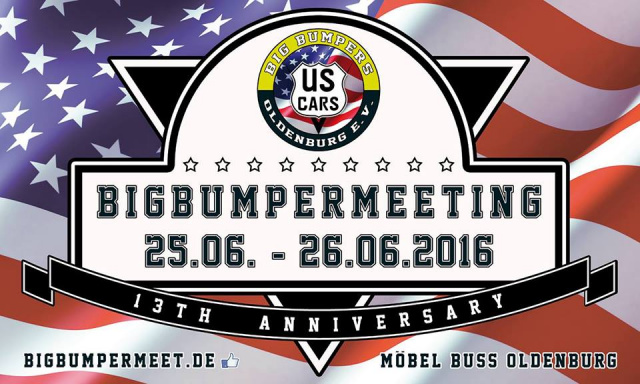 13 bigbumper meeting samstag 25 juni 2016 oldenburg m bel buss oldenburg termin. Black Bedroom Furniture Sets. Home Design Ideas