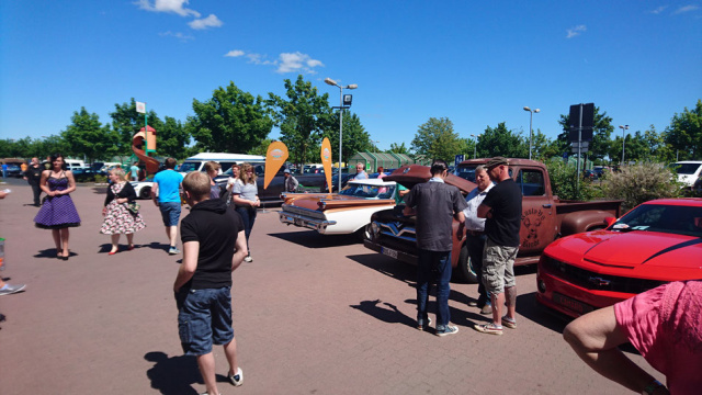 US-Car Day Globus