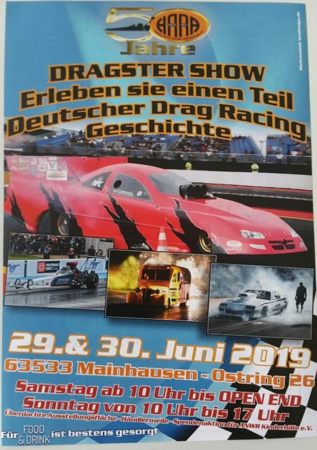 50 Jahre HARA - Dragster Show