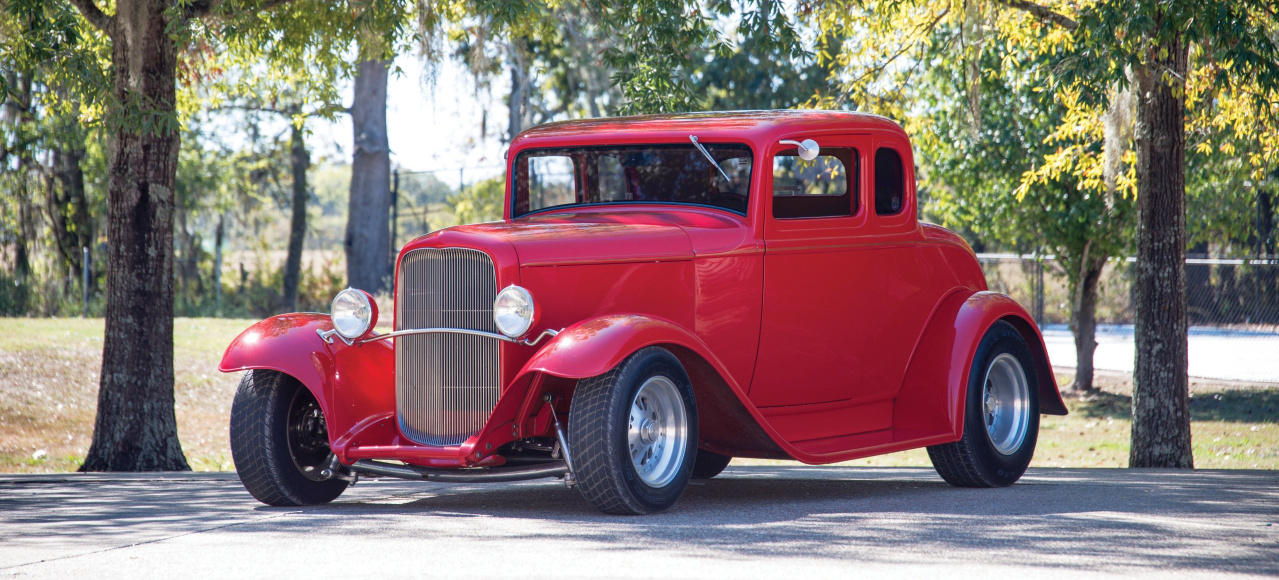 Made by Boyd Coddington: 1932 Ford Five-Window Coupe Street Rod