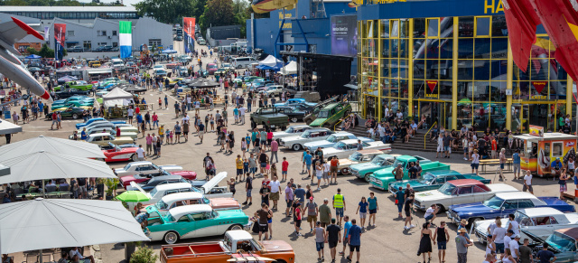 So war's:: US-Car Treffen im Technik Museum Sinsheim