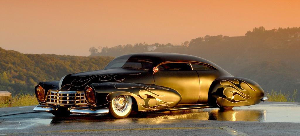 Old Chevy Cars >> 47er Cadillac: Godfather Custom: Außergewöhnlicher ...
