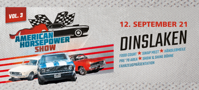 3. American Horsepower Show, 12. SEPTEMBER 2021, Dinslaken: Pressebereich für Journalisten