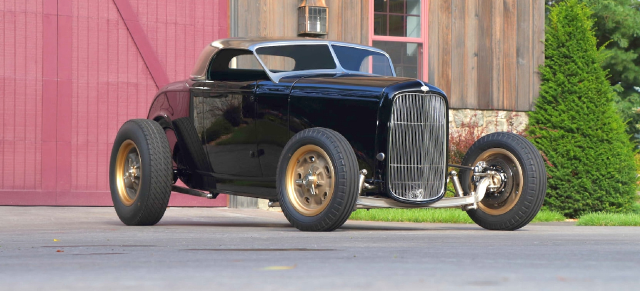 1932er Ford Hi-Boy Street Rod: Triple Nickel