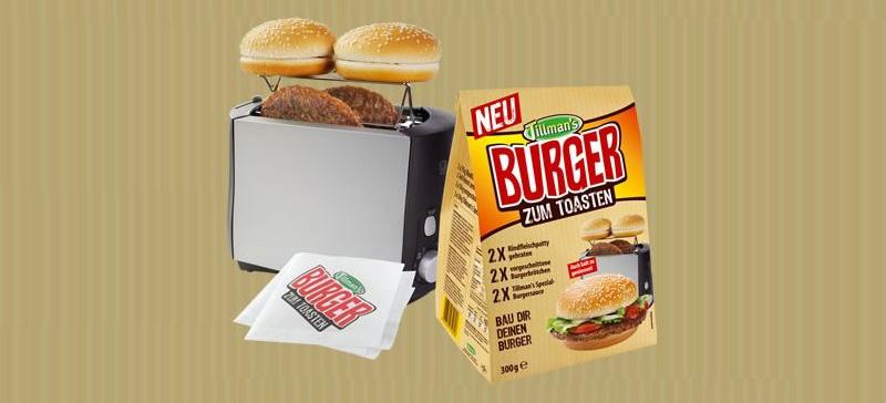 Burger F 252 R N Toaster Neuheit Von Der Anuga K 246 Ln 8 12