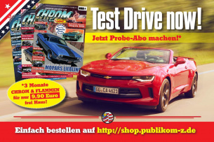 CHROM & FLAMMEN Probe-Abo: TEST DRIVE NOW!