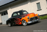 Amerikanisches Auto in Flammen: 1950 Plymouth Business Coupe: Zuverlässiges US-Car im Custom-Look