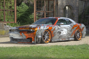 Eagle of Steel: 2009er Dodge Challenger SRT8
