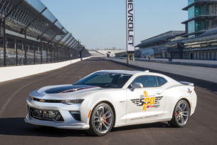 50th Anniversary Camaro wird Indy Pace Car 2016