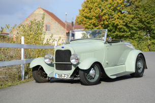 So frisch wie Pfefferminz - 1929er Ford Model A Roadster: Keep on Rollin'