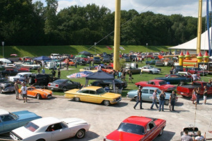 27./28. August: Grefrather EisSport & EventPark: 11. US-Car- & Bike Show in Grefrath