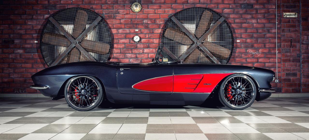 Klassiker mit moderner Technik: 1961 Chevrolet Corvette C1 im ProTouring Style - Auto des Monats ...