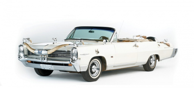 "Ein US-Car für Country & Western-Star Hank Williams:: 1964 Pontiac Bonneville ""Hank Williams Jr"" Custom Convertible"