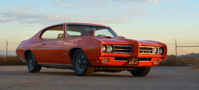 "1969 1/2er Pontiac GTO ""The Judge"": The Judge is back!"