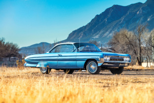 Bubble Top Coupe: 1961er Oldsmobile Dynamic 88 Holiday Coupe
