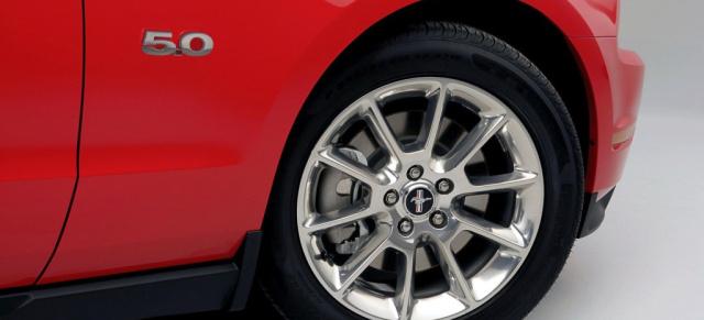 2011er Ford Mustang Gt Mit 412 Ps Starken 50 Liter V8 Mit Preisen
