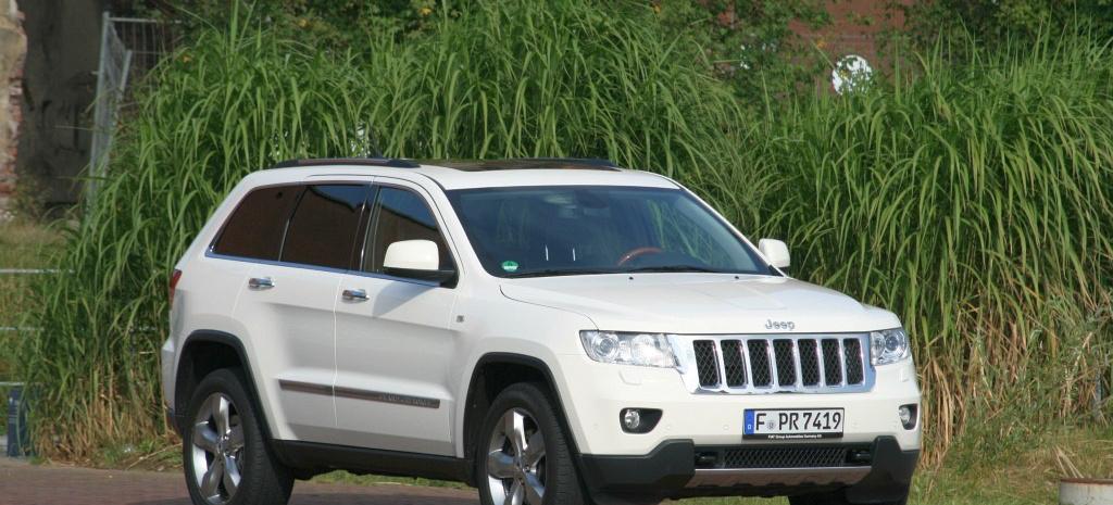 Fahrbericht Jeep Grand Cherokee Overland 3 6 L V6