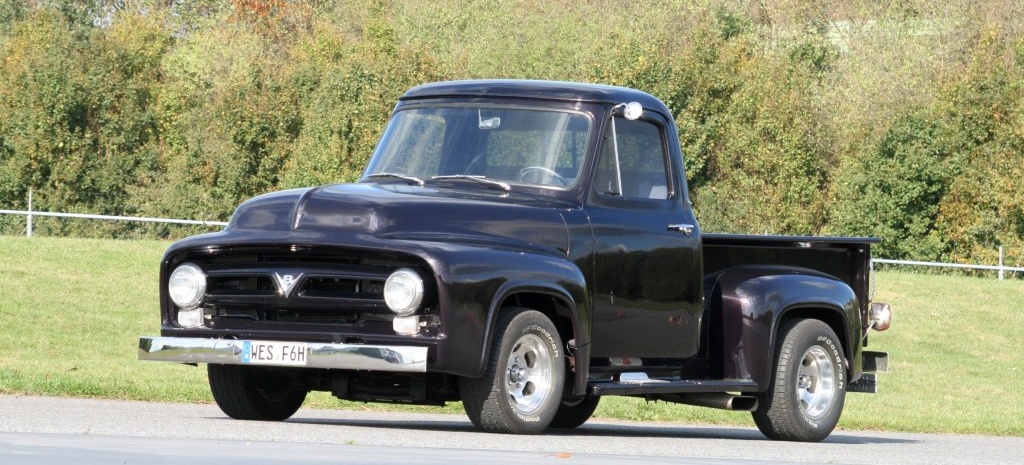 aller laster anfang 1953 ford f 100 gesehen geh rt gekauft ford pick up for fun auto. Black Bedroom Furniture Sets. Home Design Ideas