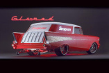 US-Car-Kombi der Sonderklasse: Der rollende Werkstatt-Wagen: Das besondere Marketing-Tool: 57er Chevy Nomad by Snap-on Tools