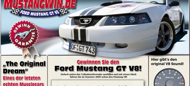 Ford Mustang Gewinnen