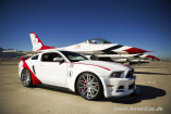 "Ford greift Mustang-Design aus der Luft an: Ford Mustang GT ""U.S. Air Force Thunderbirds Edition 2014""."