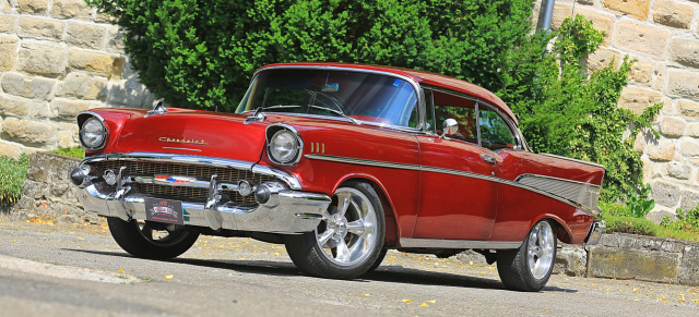 Kult-Chevy mit Monster-Motor: : 1957er Bel Air Streetmachine: Lucky & Punch