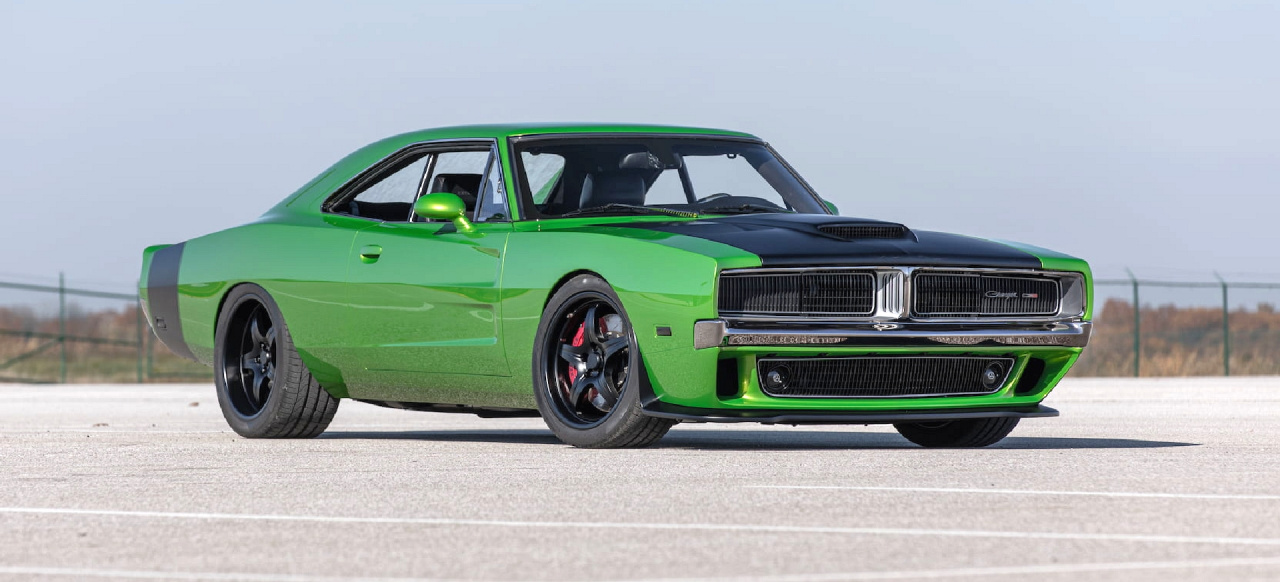 "1969er Dodge Charger mit Hellcat Power: 890 PS Show Stopper ""Reverence"""