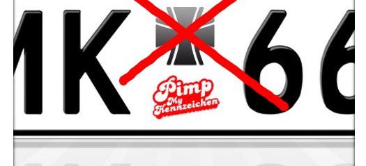 Urkundenfälschung Keine Sticker Fürs Kennzeichen