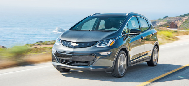 "Los Angeles Auto Show: Chevrolet Bolt ist ""Green Car of the Year 2017"""