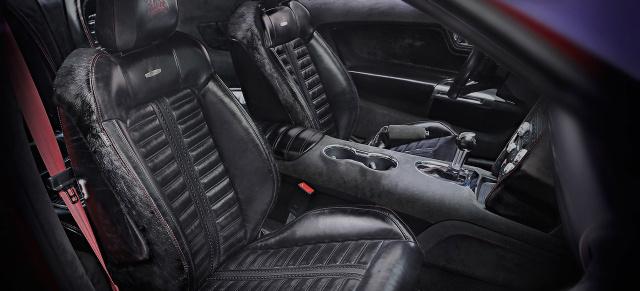 Geschmackloser Kundenwunsch oder stilecht?: Ford Mustang mit Pferde ...