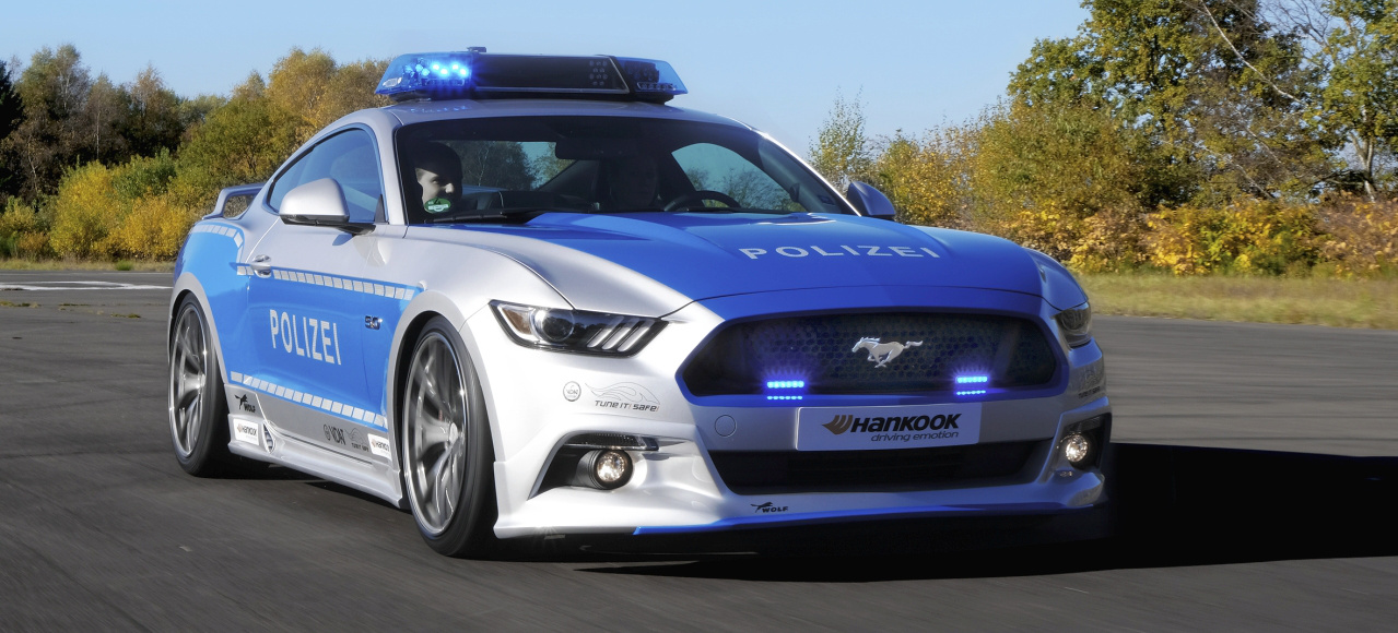 "Just for Show: Ford Mustang Polizeiwagen von ""Tune it safe!"